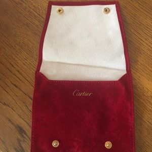 Cartier jewelry bag